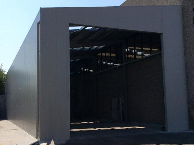 tunnel coibentati pannelli isolanti