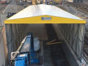 tunnel retrattile